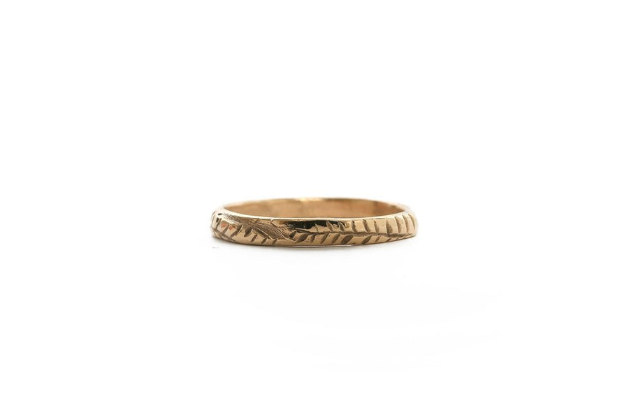 Fern Ring - Silver or Gold