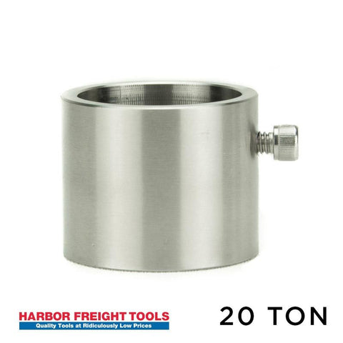 Adapter for Harbor Freight 20 ton Rosin Press (2869)