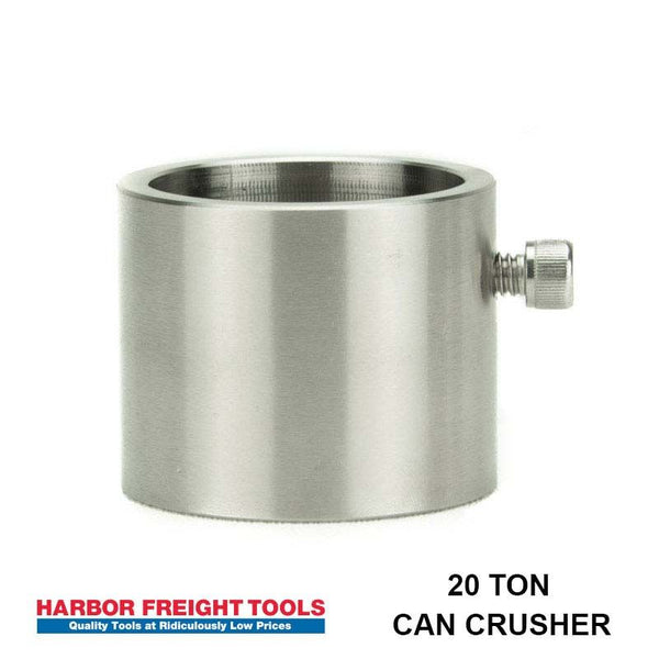 Adapter for Harbor Freight 20 ton Can Crusher Press (2902)