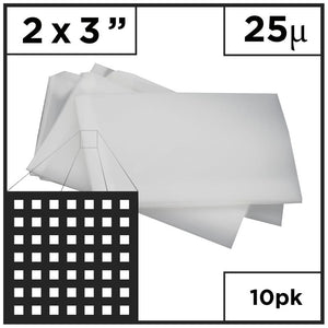 "2"" x 3"" Rosin Mesh Bags (Choose Micron)"