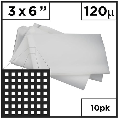 "4"" x 7"" Rosin Press - Mesh Bags (Choose Micron)"