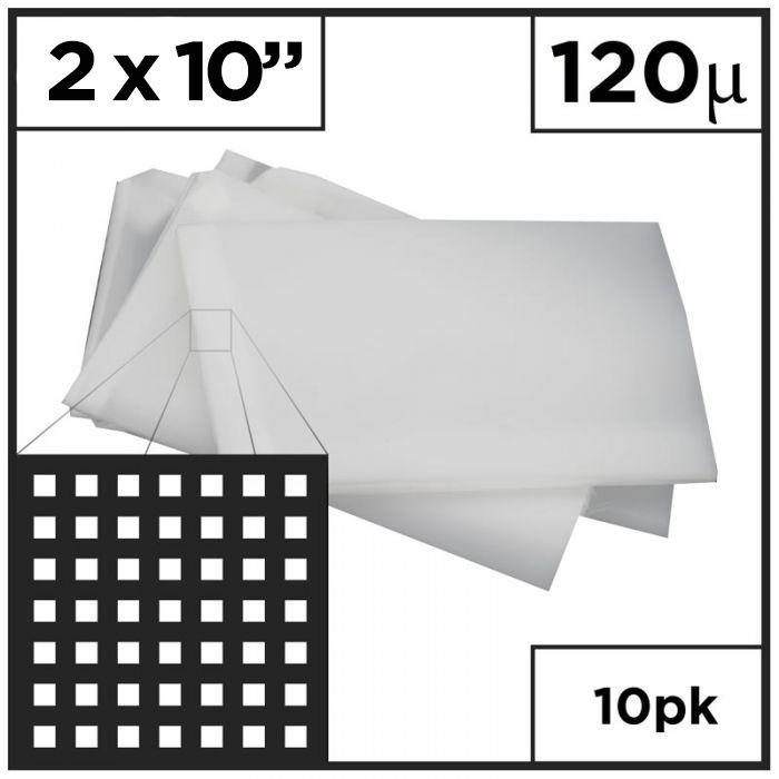 "3"" x 10"" Rosin Press - Mesh Bags (Choose Micron)"