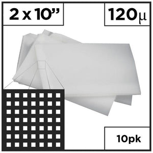 "2"" x 10"" Rosin Press - Mesh Bags (Choose Micron)"