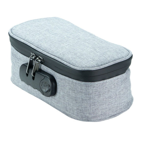 Smell Proof Lockable Case - Grey (9381)