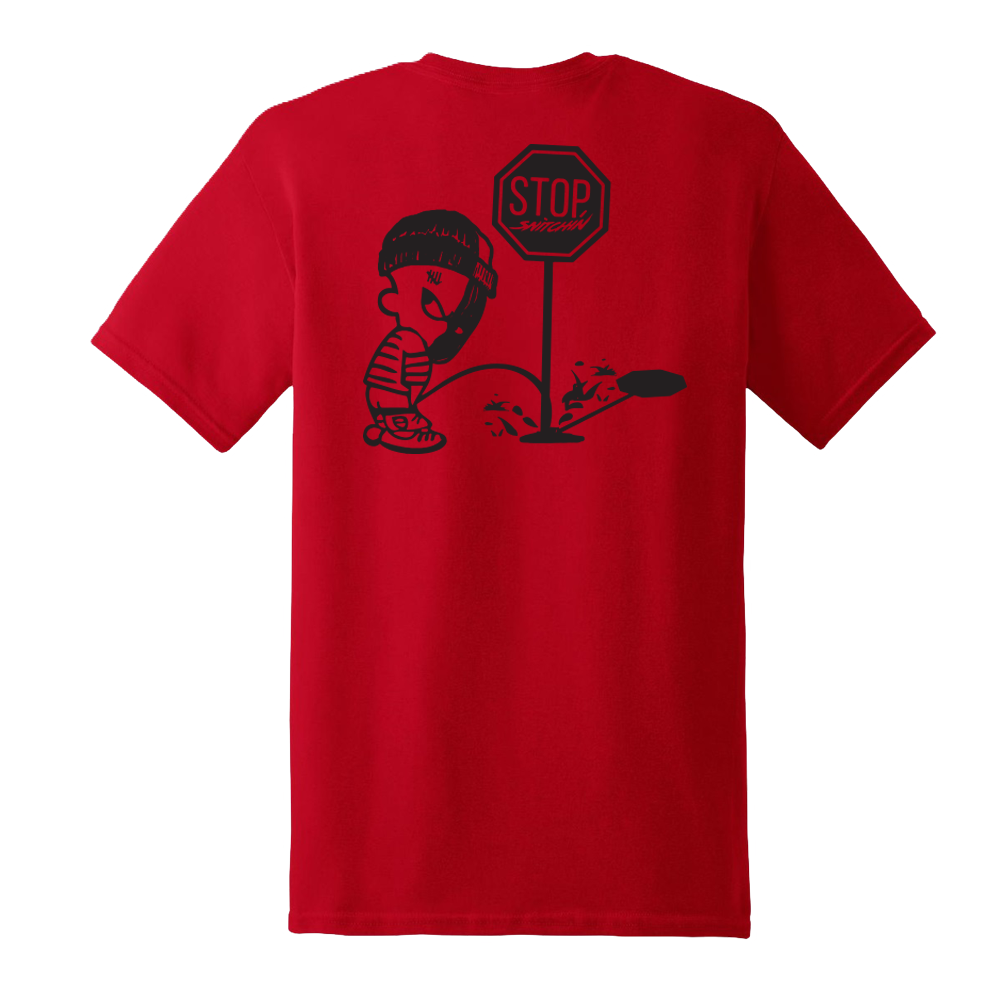 Front Street T-Shirt Red