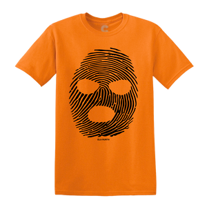 Ski Mask T-Shirt Orange