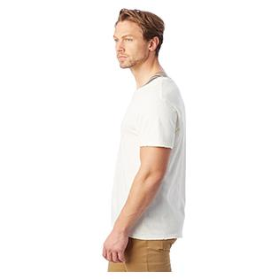 Alternative Apparel Mens Heritage Garment Dyed Distressed T-Shirt