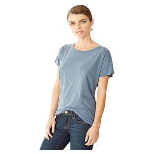 Alternative Apparel Ladies Rocker Garment Dyed Distressed T-Shirt