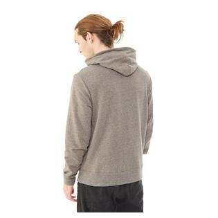 Alternative Apparel Mens Rocky Eco Mock Twist Mock Neck Zip Hoodie
