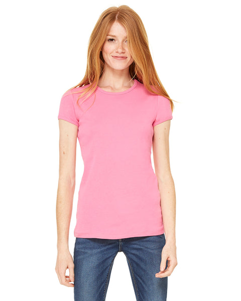 Bella + Canvas Bella Ribbed Crew Neck T