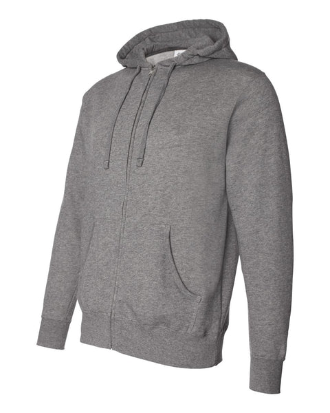 Independent Trading Co Full Zip Hooded Sweatshirt