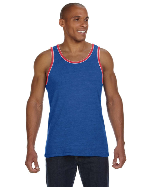 Alternative Apparel Eco Jersey Double Ringer Tank
