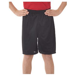 Badger Youth Six Inch Inseam Mesh/Tricot Short