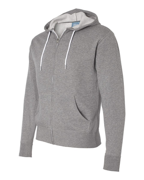 Independent Trading Co Unisex Hooded Full Zip Sweatshirt