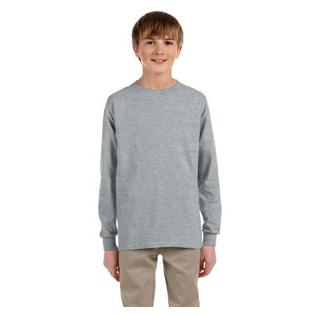 Jerzees Youth 50/50 Heavy Blend Long-Sleeve T-Shirt