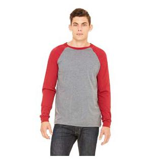 Bella + Canvas Canvas Long Sleeve Baseball T