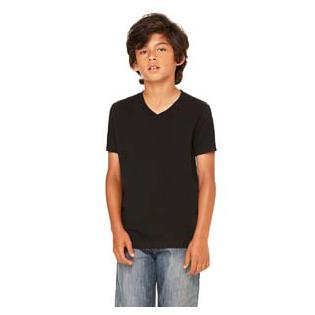 Bella + Canvas Youth Jersey Short Sleeve V Neck T-Shirt
