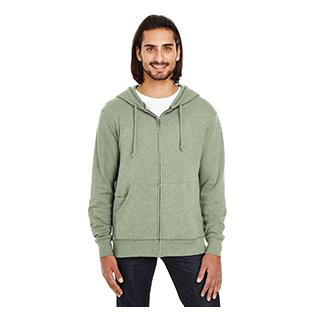 Threadfast Apparel Unisex Triblend French Terry Full Zip