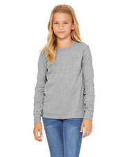 Bella + Canvas Youth Jersey Long Sleeve T-Shirt