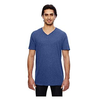 Anvil 3.2 oz. Featherweight Short Sleeve V Neck T-Shirt