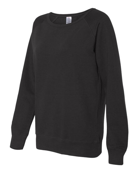 Independent Trading Co Junior's Lightweight Crewneck Sweatshirt