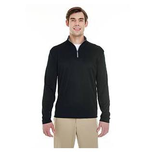 Badger Mens Lightweight Long Sleeve Quarter Zip Performance Pullover