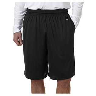 Badger Adult Ten Inch Inseam B Core Performance Short with Pockets