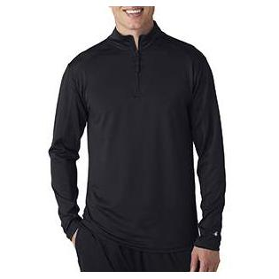Badger Adult Lightweight Quarter Zip Performance Pullover