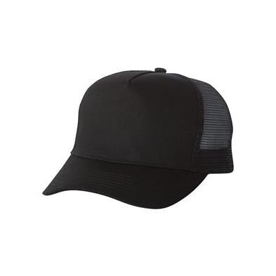 Mega Cap Five Panel PET Mesh Back Trucker