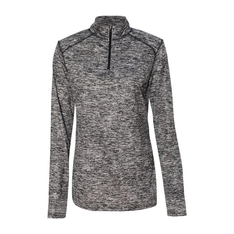 Badger Ladies Blend 1/4 Zip Pullover