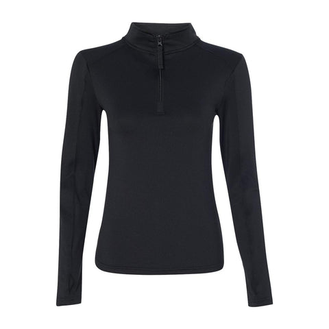 Badger Ladies Lightweight Quarter Zip Performance Pullover