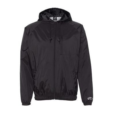Rawlings Hooded Full Zip Wind Jacket