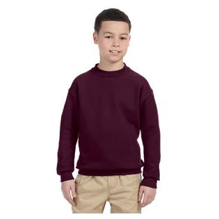 Jerzees Youth 9.5 oz. Super Sweats NuBlend Fleece Crew