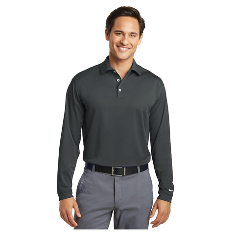 Nike Golf Long Sleeve Dri FIT Stretch Tech Polo
