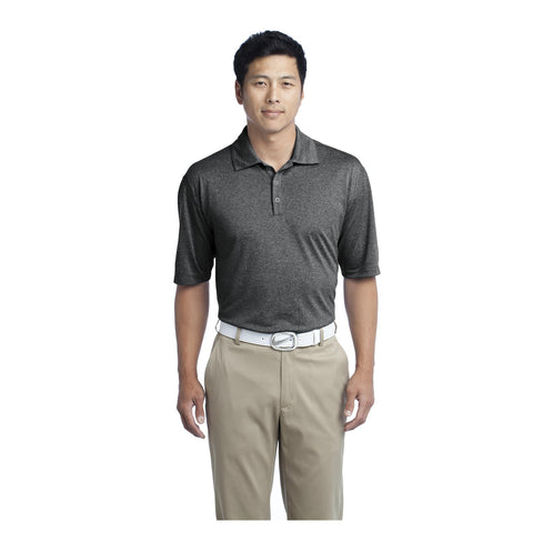 Nike Golf Dri FIT Heather Polo