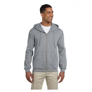 Jerzees Super Sweats NuBlend Full Zip Hooded Sweatshirt