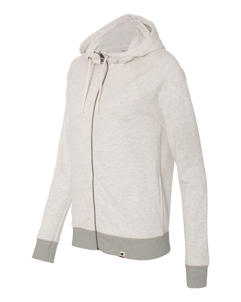 Champion Originals Women's French Terry Hooded Full Zip
