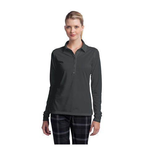 Nike Golf Ladies Long Sleeve Dri FIT Stretch Tech Polo