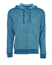 Next Level Adult Denim Fleece Full Zip Hoody
