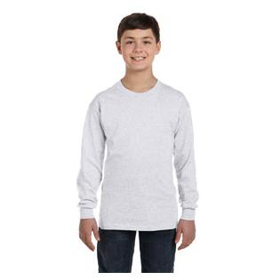 Hanes Youth 6.1 oz. Tagless ComfortSoft Long Sleeve T-Shirt