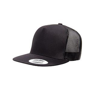 Yupoong Adult 5 Panel Classic Trucker Cap
