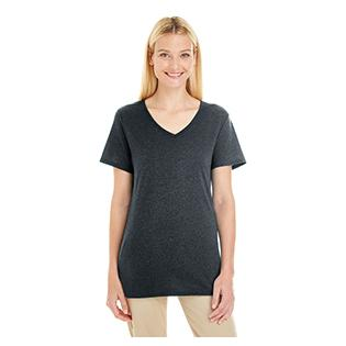 Jerzees Ladies 4.5 oz. TRI BLEND V Neck T-Shirt