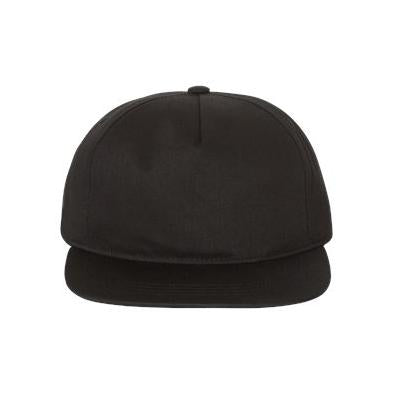 Yupoong Adult Unstructured 5 Panel Snapback Cap