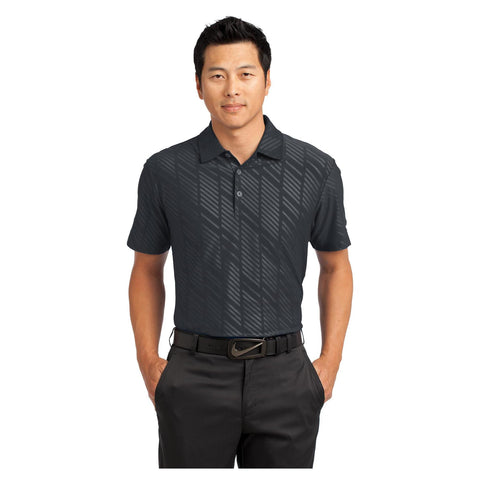 Nike Golf Dri FIT Embossed Polo
