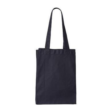 Q-Tees 12L Canvas Gusset Shopping Tote