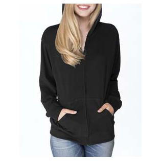 Next Level Adult Sueded Full Zip Hoody