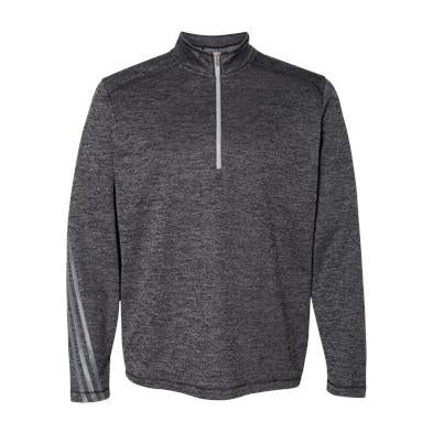 Adidas Brushed Terry Heather Quarter Zip