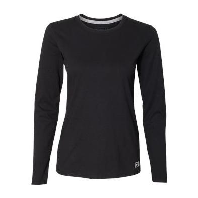 Russell Athletic Women's Essential Long Sleeve 60/40 Performance Tee