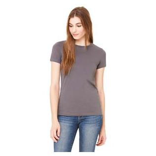 Bella + Canvas Ladies Poly Cotton Short Sleeve T-Shirt