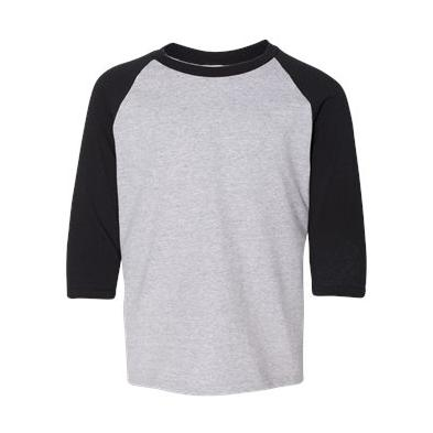 Gildan Youth 5.3 oz. 3/4 Raglan Sleeve T-Shirt